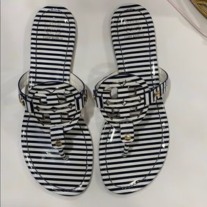 Tory Burch Miller Striped Sandals